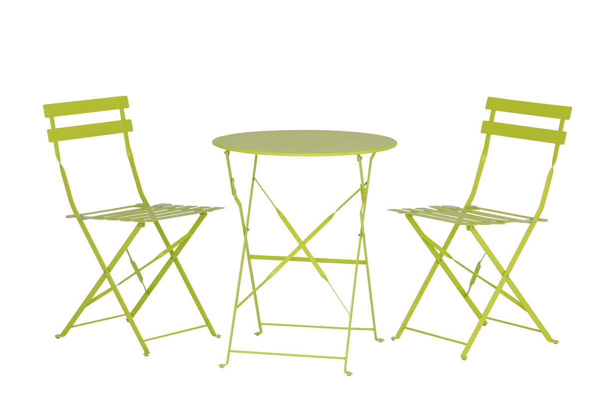 Green Outdoor Dining Set