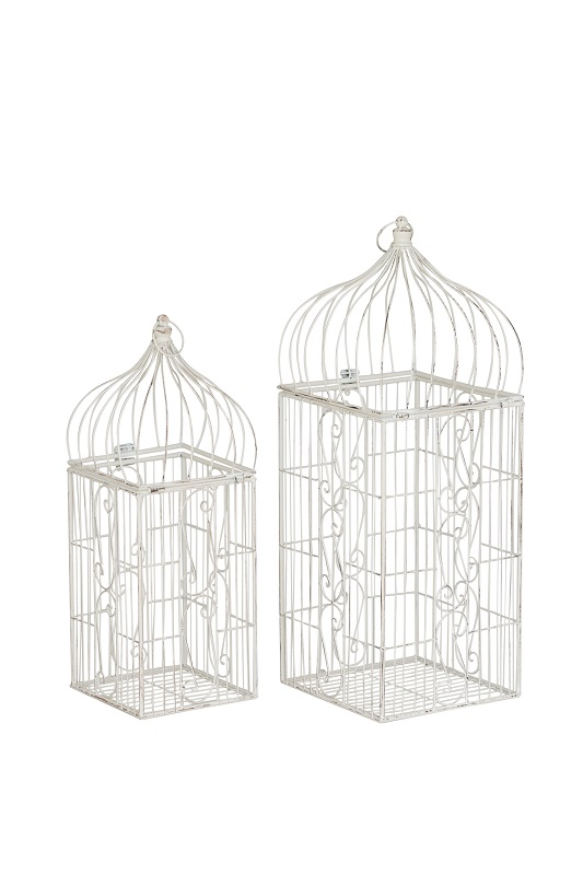 Ivory Square Birdcages