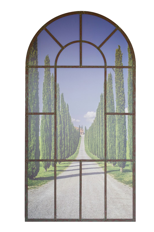 Tuscany Scene Arch Mirror