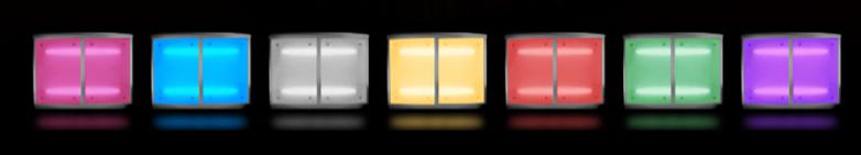 Mobile Bar Hire LED Colours