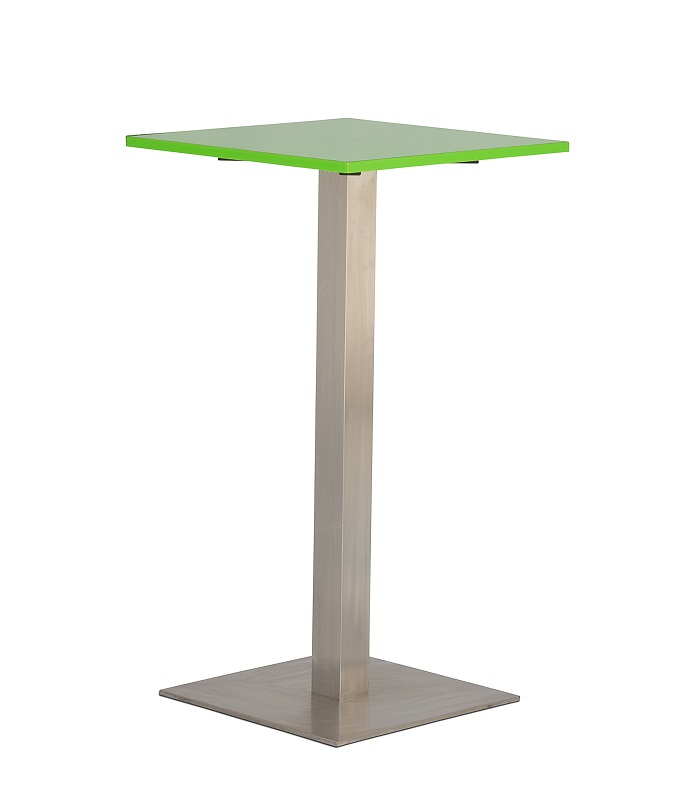 Green Square Bar Table