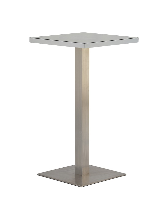 Mirror Square Bar Table