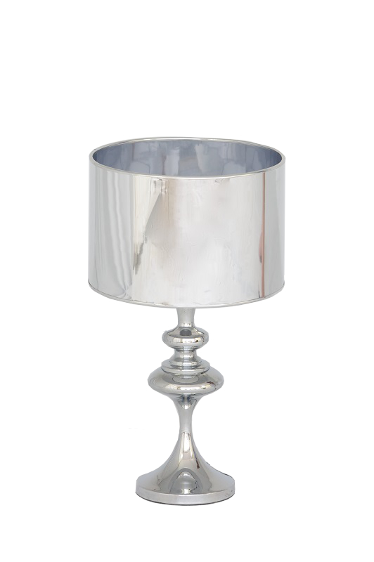 Silver Chrome Lamp