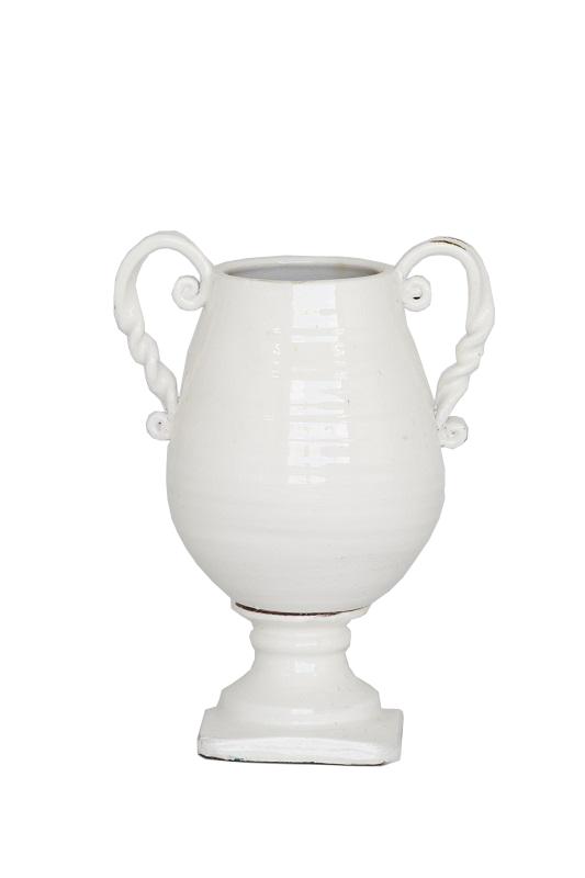 White Ceramic Urn