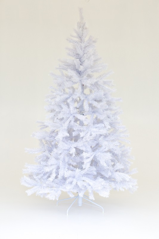 White Fur Christmas Tree