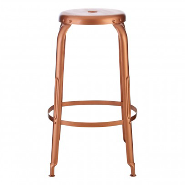 Copper Coloured Bar Stool