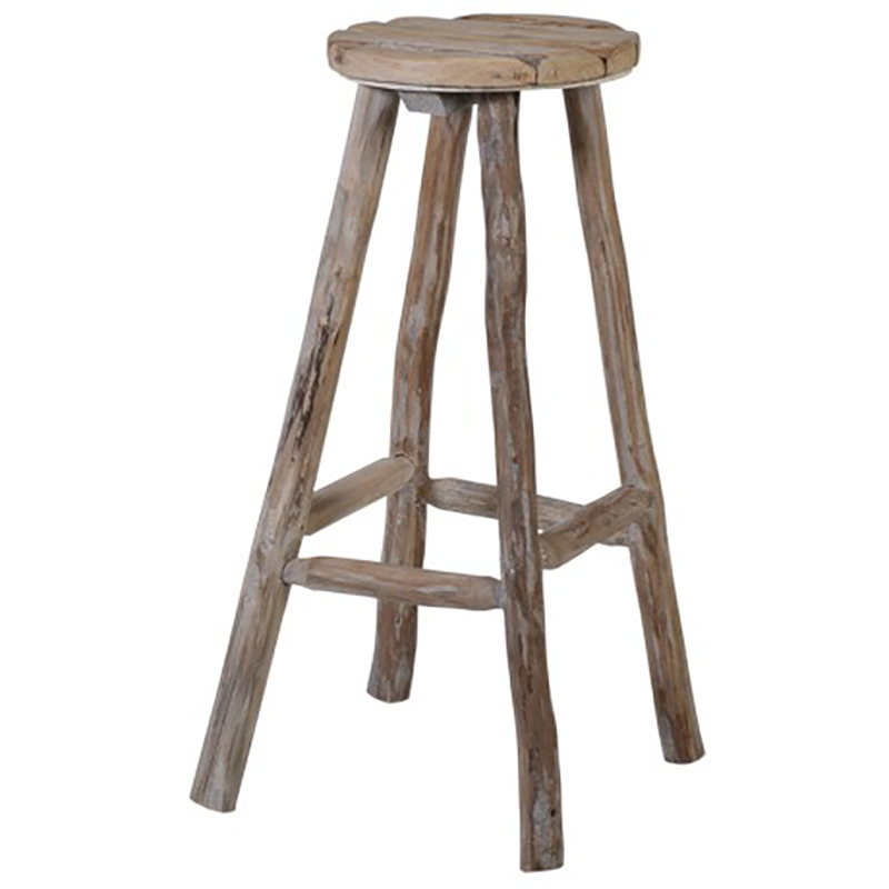 Twisted Wood Stool