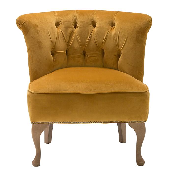 Gold Velvet Chair
