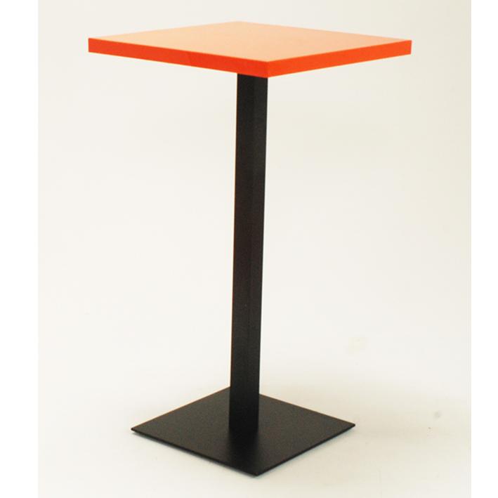Orange Bar Table
