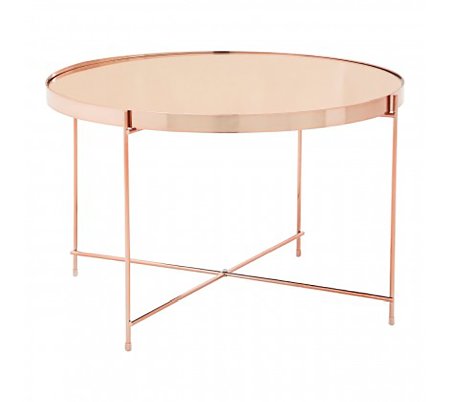 Rose Gold Table