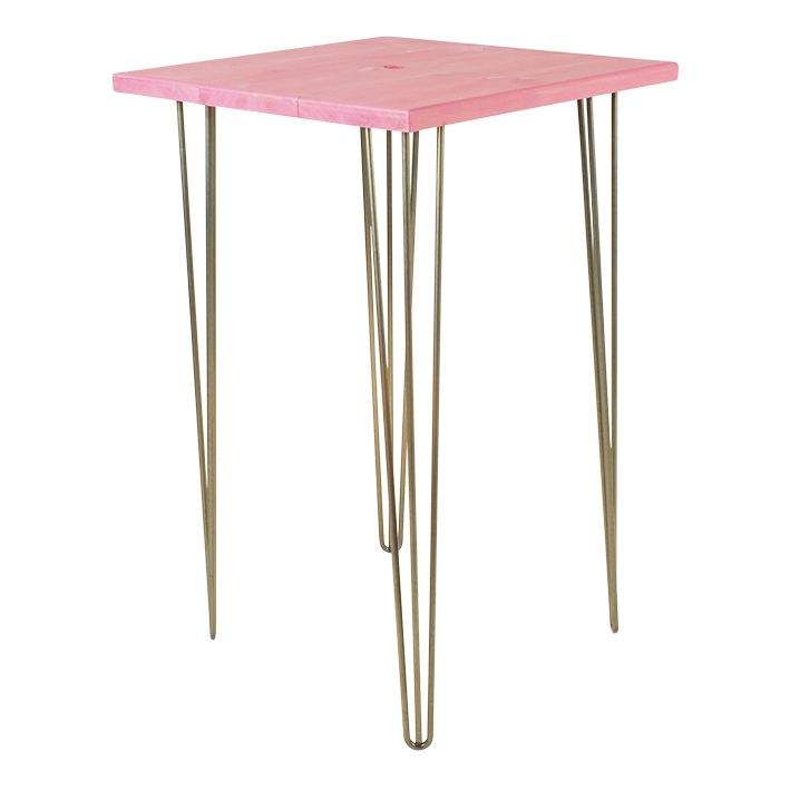 Fuchsia Pink Bar Table
