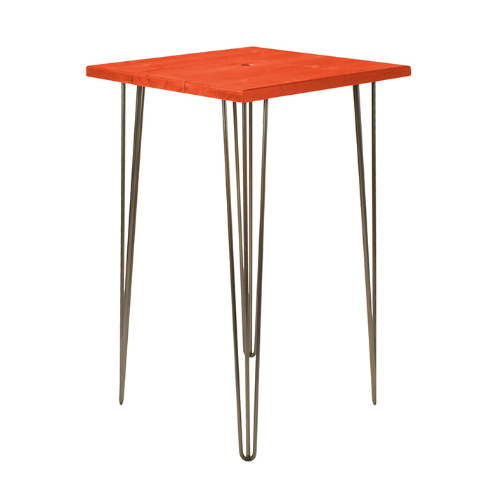 Saffron Orange Bar Table