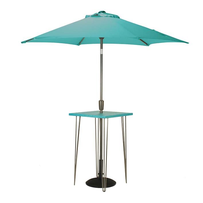 Teal Bar Table