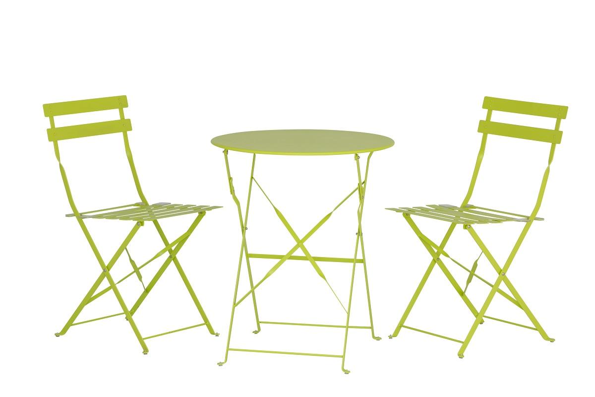 Green Outdoor Dining Set