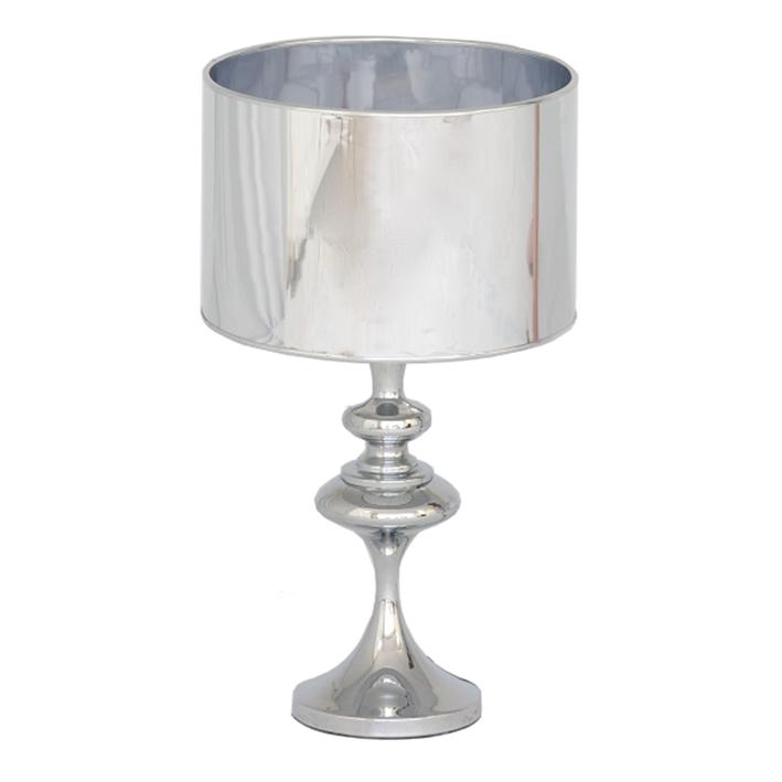 Silver Chrome Lamp