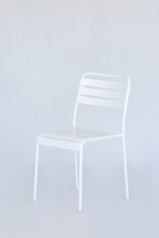 White Bistro Dining Chair