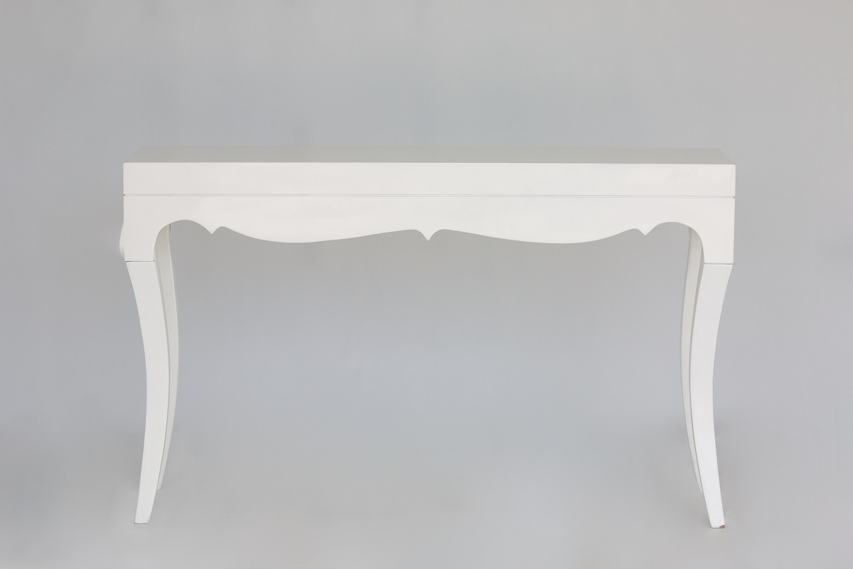 White Gloss Console Table