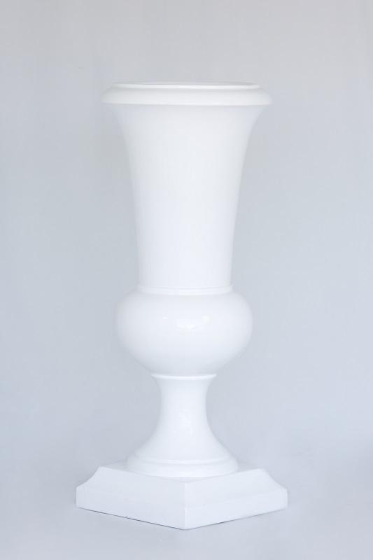 White Gloss Urn
