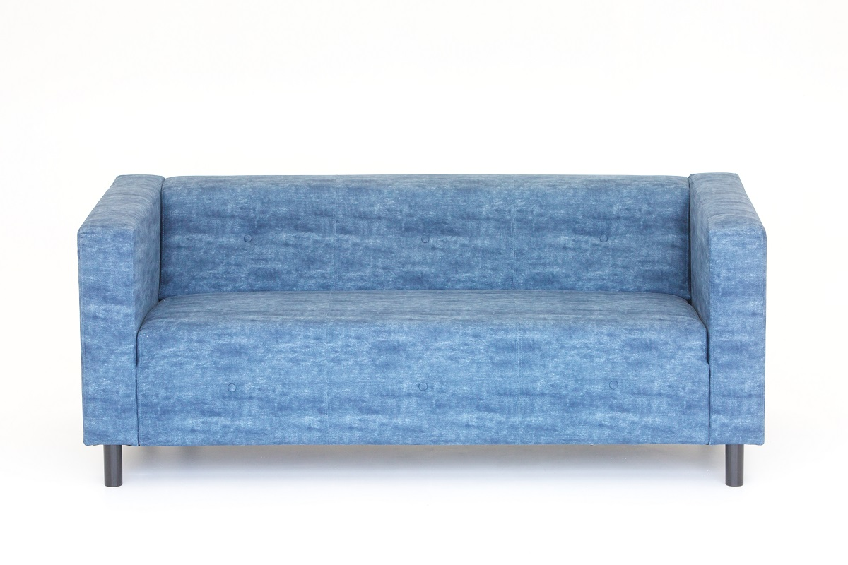 Blue Roxy Sofa