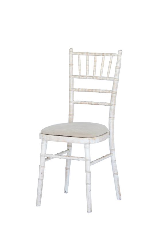 Limewash Chiavari Dining Chair