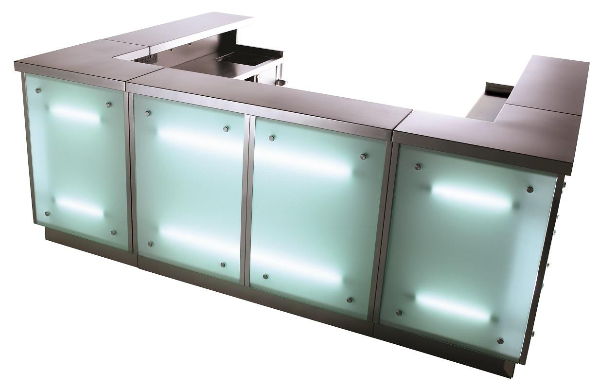 Illuminated Portable Bar Unit