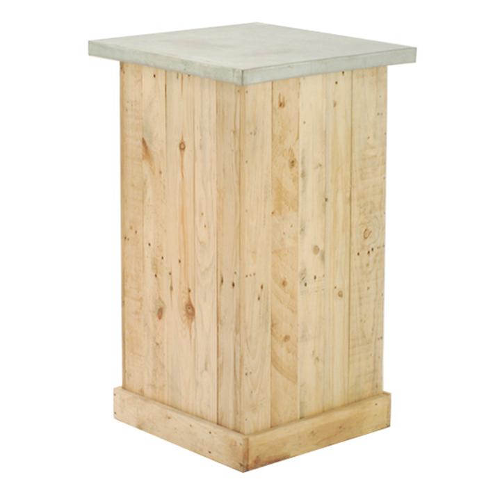 Pallet Wood Bar Table