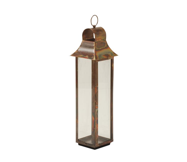 Burnished Copper Lantern