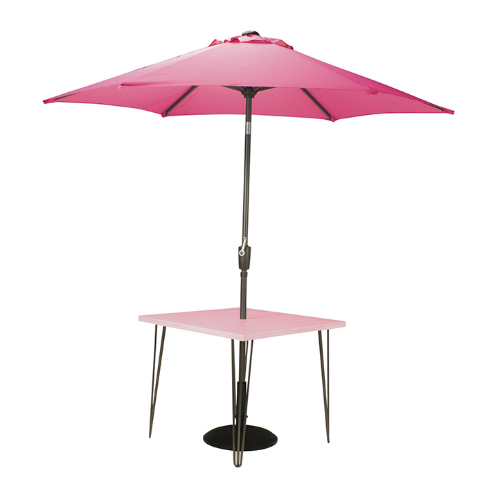 Fuchsia Pink Dining Table