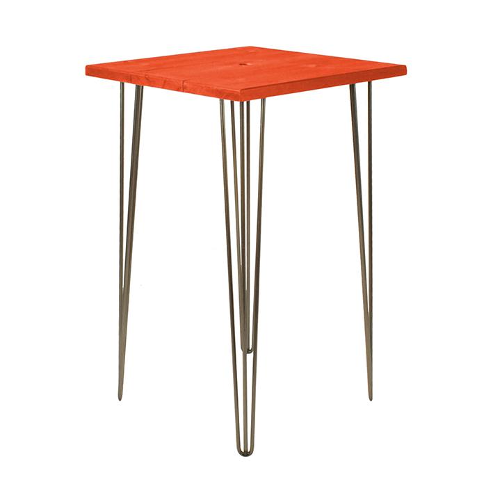 Saffron Orange Bar Table