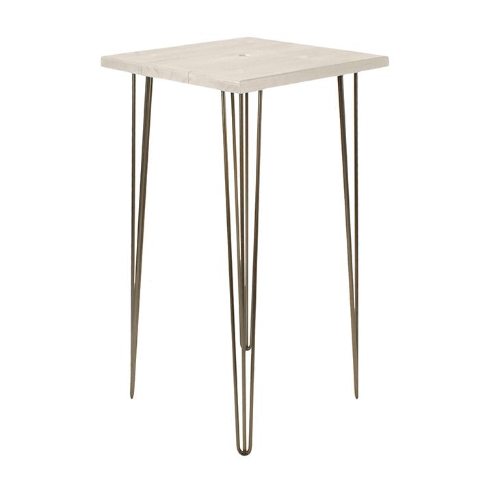 Whitewash Bar Table